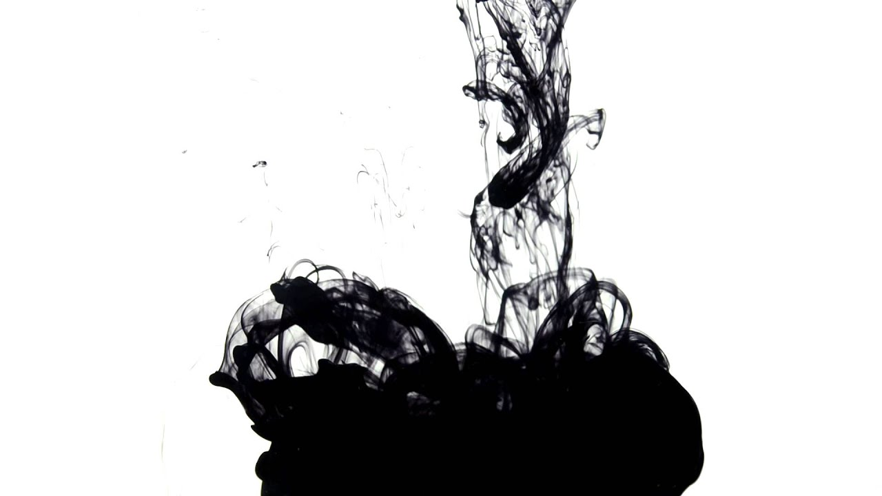 Ink drop drip in water 002 royalty free stock footage youtube - Hd ink wallpaper ...