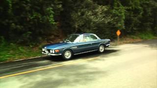 BMW 3.0 CS E9 exhaust sounds, rough cut