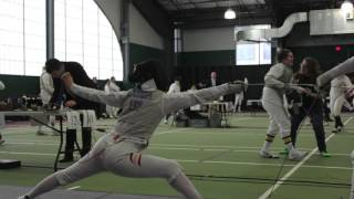Men's and Women's Fencing Highlights