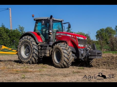 Massey Ferguson 8690 Dyna VT & Dondi MAXI hard work in France