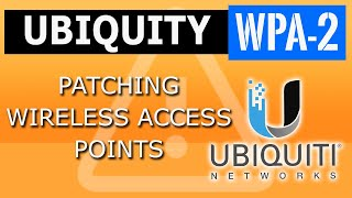 unifi firmware upgrade Access Points shell SSH+SCP-Ubiquiti Unifi Access Points patch for WPA2-KRACK