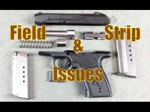 Remington R51 Field Strip & Issues