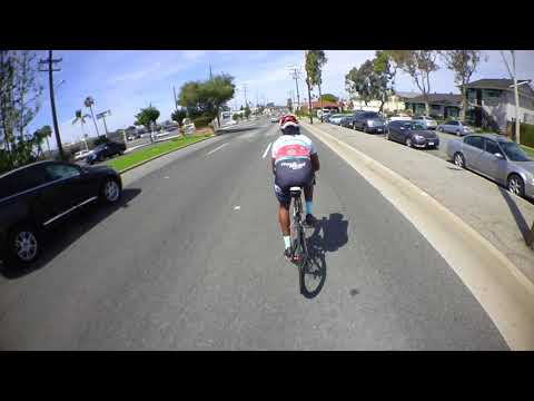 Cycling Beach Blvd to Imperial Hwy