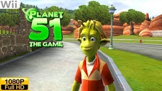 Planet 51: The Game - Wii Gameplay 1080p (Dolphin GC/Wii Emulator)
