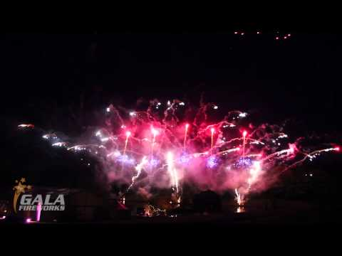 Fireworks to Music - a pyromusical display by Gala Fireworks