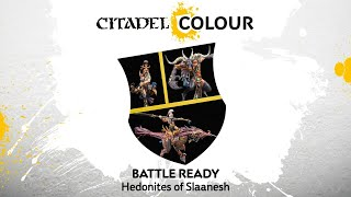 How to Paint: Battle Ready Hedonites of Slaanesh