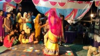 "Desi Marriage Dance In Rajasthani Song ""Daaru Ki Bottle"" By Doctor With His Wife"