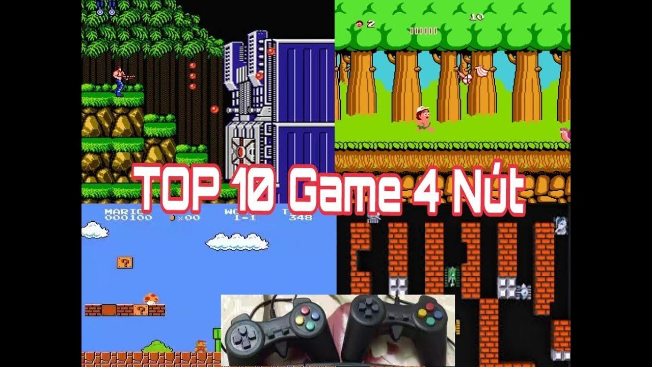 NES | Top 10 Tựa Game Huyền Thoại Trên Máy Điện Tử 4 Nút | tuổi thơ 8x 9x |  NVH