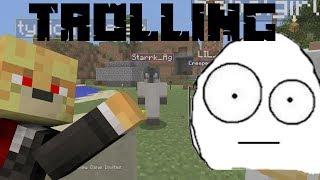 Minecraft PlayStation 3: Custom Skins Trolling On Kids! (Funny Reaction, Read desc.)