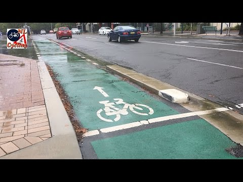 Cycling in Canberra (Australia)