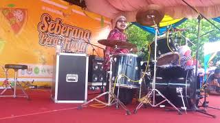 Abang Lori Kak Nab Drum cover