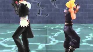 Cloud & Squall Dance Dissidia Final Fantasy