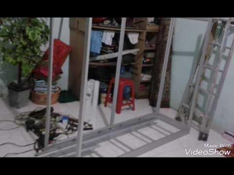 Belajar Membuat Lemari Baju Aluminium Youtube
