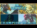 ALL SECRET CHAMPION DIALOG | Zelda: Breath of the Wild - The Champions Ballad