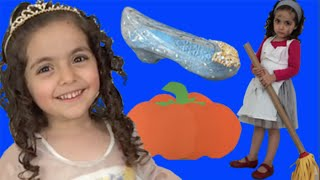 CINDERELLA TOYS FROM MOVIE | Pumpkin Egg | Dress | Toy Unboxing Videos | Princesses In Real Life thumbnail