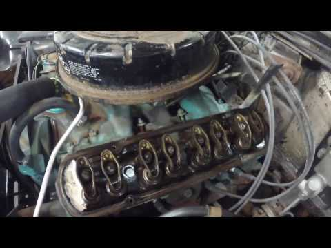 Working on 60 Pontiac barn find, valve cover gaskets and fuel line