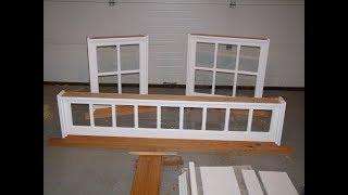 Making Frames For Barn Sash Windows
