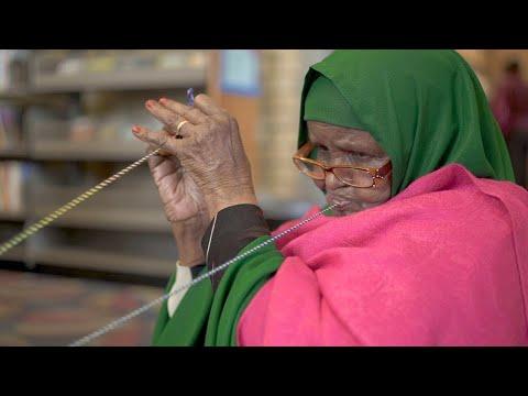 Somali Ayeeyos Make Woven Art Without Tools