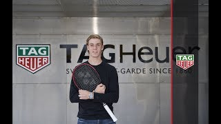 TAG Heuer |  DENIS SHAPOVALOV JOINS THE TAG HEUER FAMILY