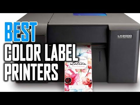 Best Color Label Printers in 2019 - YouTube