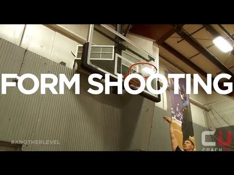 Basketball Drills: The Form Shooting Drill - YouTube