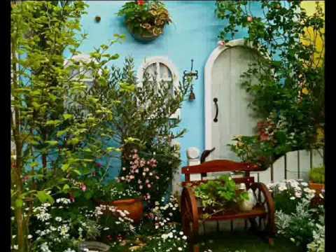 Hermosos jardines youtube for Jardines pequenos y bellos