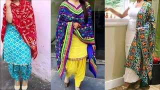 Top Phulkari Suit Designs