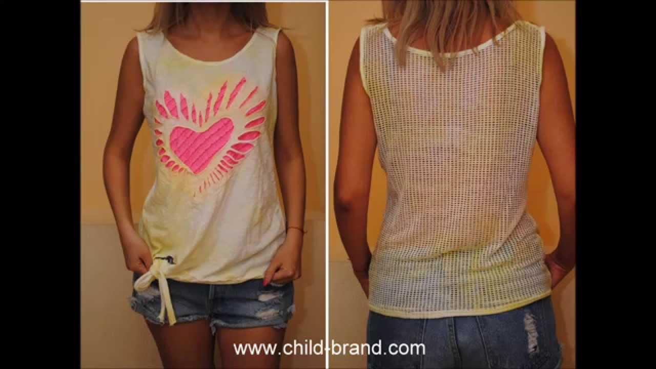 Модные женские майки
