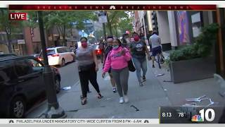 Widespread Looting In Center City Philadelphia After Floyd Protests Turn Violent | Nbc10