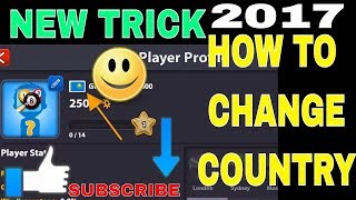 8 Ball Pool : Low Winning Country Change - 100% Working | New Trick All In one
