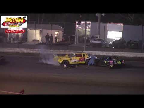 Jamestown Speedway WISSOTA Street Stock A-Main (6/22/19)