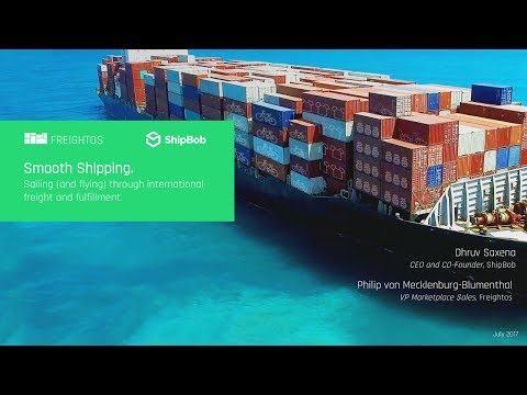 Ten Tips for Better International Freight and Inbound Shipping | Freightos & ShipBob Webinar
