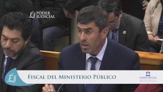 Lectura de veredicto juicio contra Mauricio Ortega Top Coyhaique 18 abril 2017 parte 1