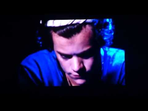 One Direction - Over Again (Harry sneezes) Toyota Center July 21, 2013