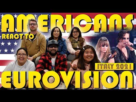 Americans react to Eurovision Maneskin Zitti e Buoni Italy 2021