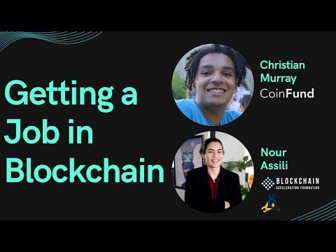 Getting a Job in Blockchain