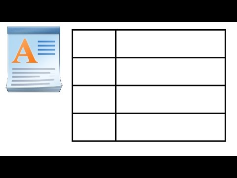 How to Create a Table in WordPad thumbnail