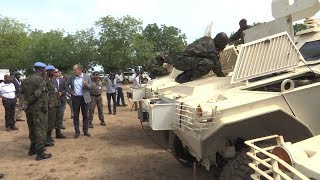 أول دفعة من القوات الإقليمية تصل إلى جنوب السودان