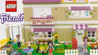 LEGO Friends Olivia's House  - Playset 3315 Toy Unboxing & Speed Build
