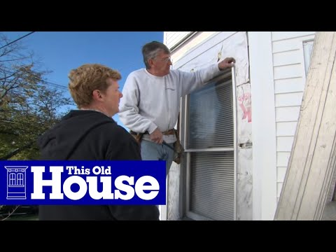 How to install window casing for vinyl siding this old house youtube How to replace an exterior window