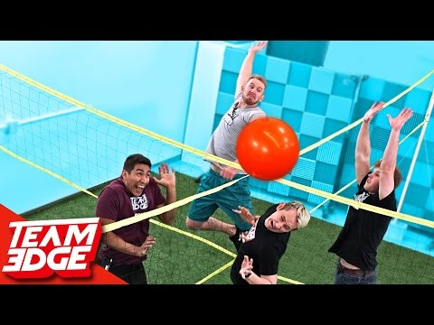 Thumbnail: Four Square Volleyball Challenge!!
