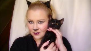Halloween Tutorial - Egyszerű macskanő smink Thumbnail