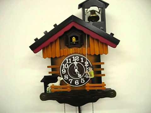 Shepherd and Lamb Music Cuckoo Clock (#60304)