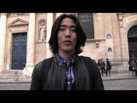 【秀才】ソルボンヌ大学でフランス哲学を学ぶ日本人のフランス語自己紹介