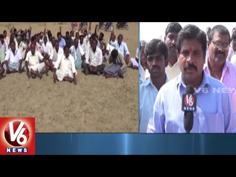 Restoration Of Lake In Kollapur | Nagarkurnool | V6 News