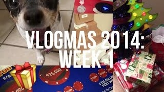 VLOGMAS WEEK 1: Meet Annie, Wrapping Presents, Givaway Game Winner! Thumbnail