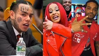 "6IX9INE Snitches On Jim Jones / Cardi B... ""They're Part Of What We've Done"""