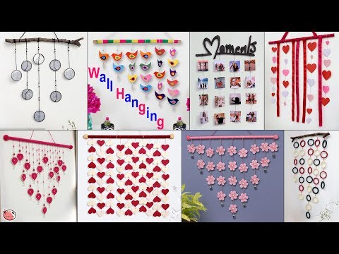 10 Amazing Wall Decor Ideas || Paper Craft Ideas