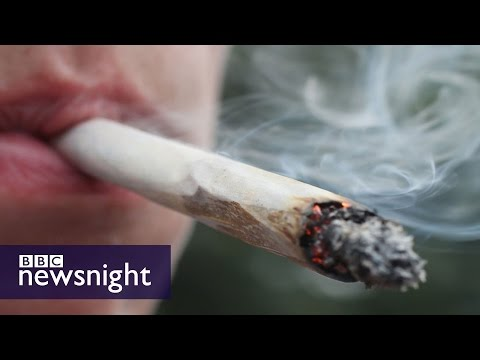 Should laws on cannabis use be relaxed? Newsnight discussion