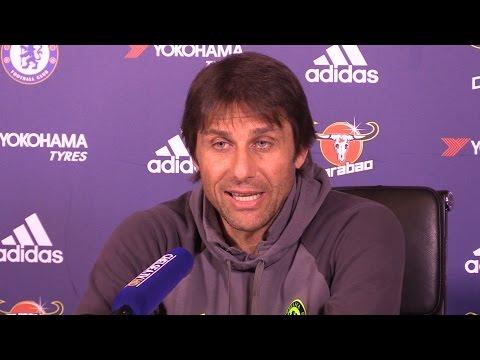 Antonio Conte Full Pre-Match Press Conference - Everton v Chelsea